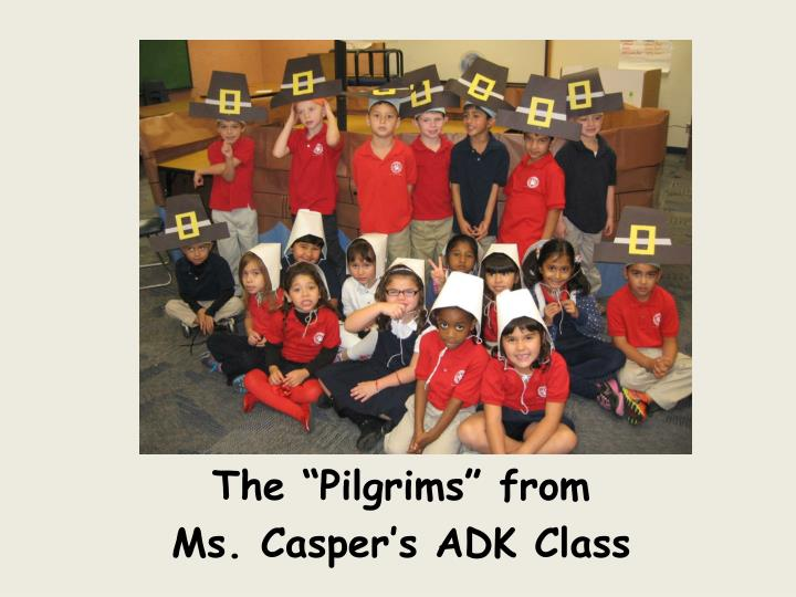 "The ""Pilgrims"" from"