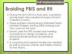 braiding pbis and rti1