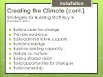 creating the climate cont1