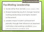 facilitating leadership1