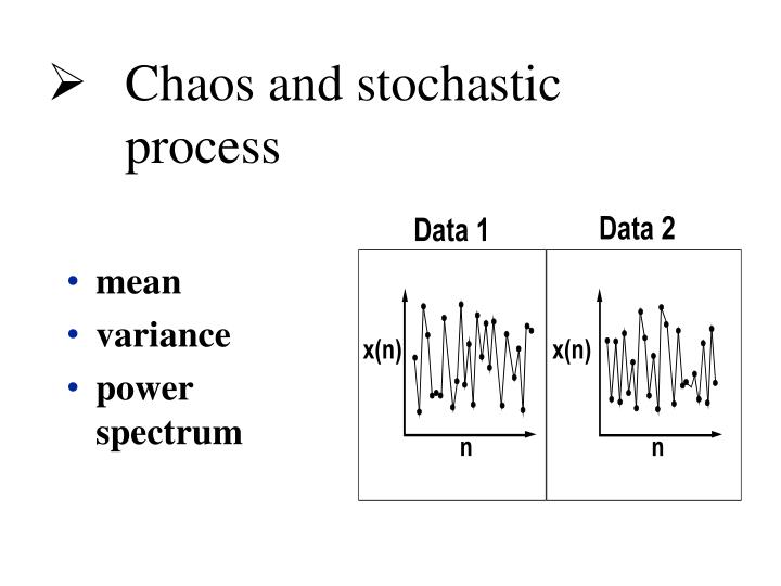 Chaos and stochastic process