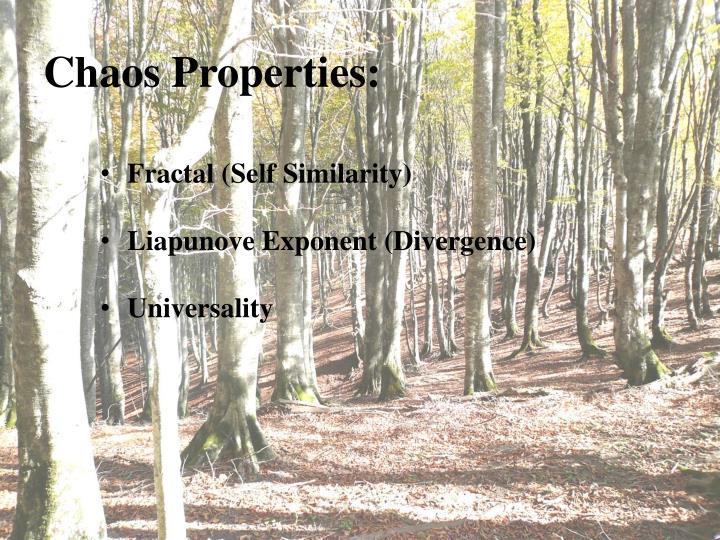 Chaos Properties: