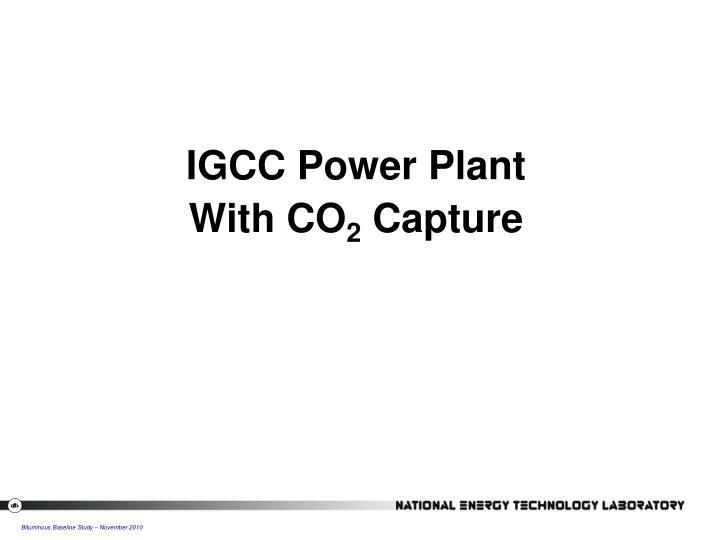 IGCC Power Plant