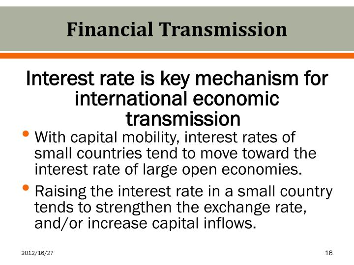 Financial Transmission