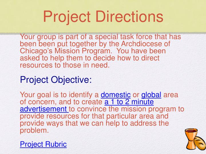 Project Directions