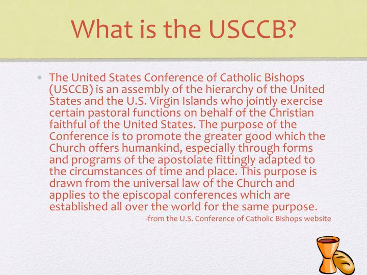 What is the USCCB?