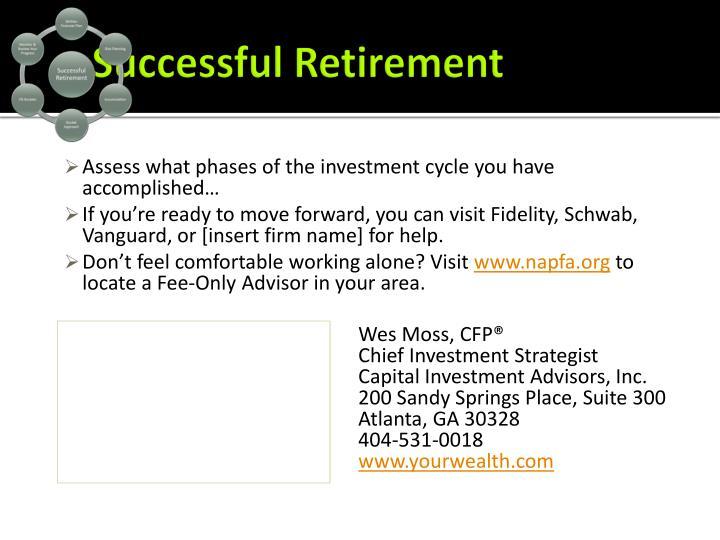 Successful Retirement
