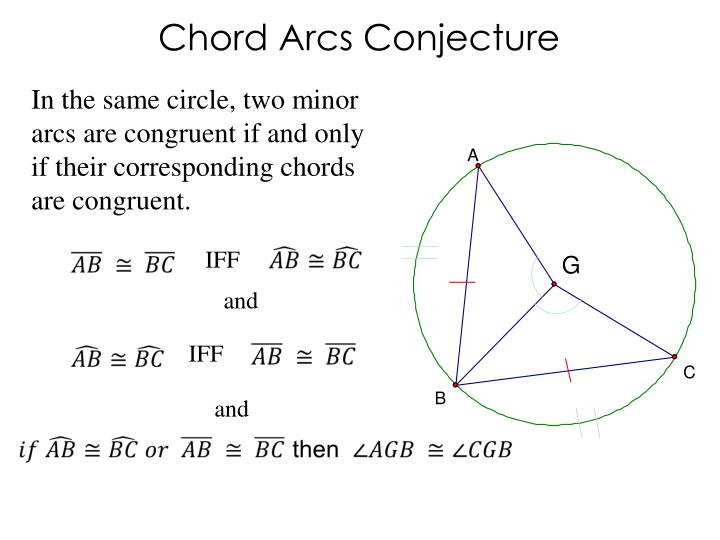 Chord Arcs Conjecture