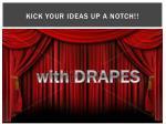 kick your ideas up a notch