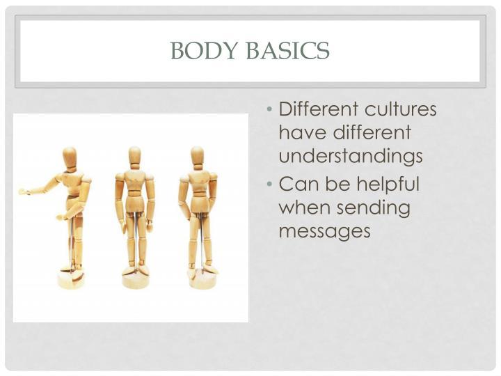 Body basics