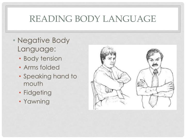 Reading body language