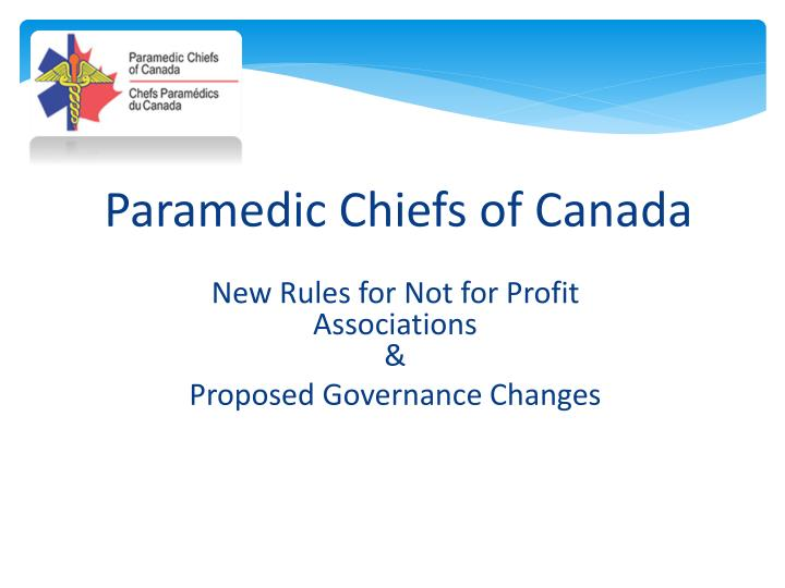 Paramedic Chiefs of Canada