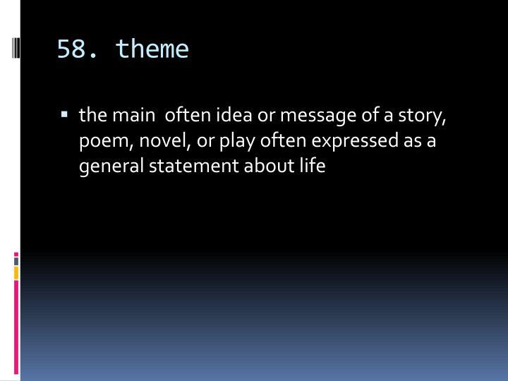 58. theme