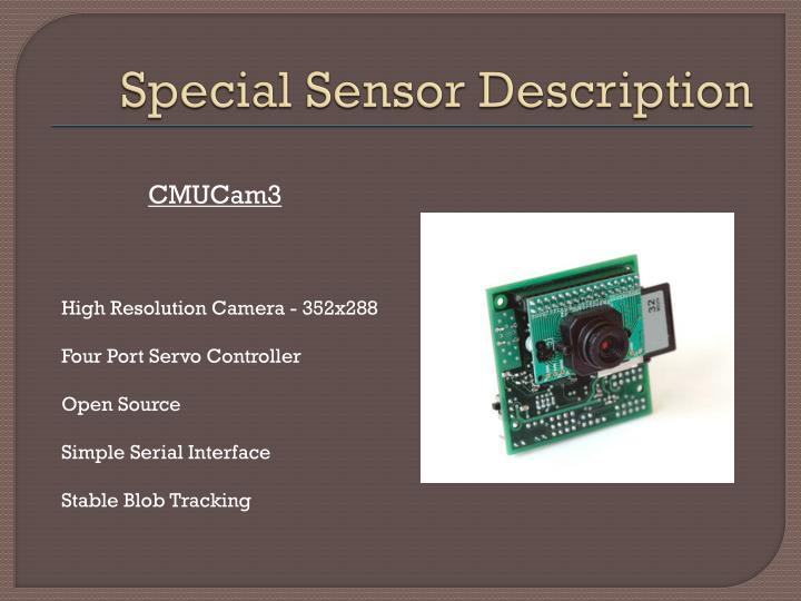 Special Sensor