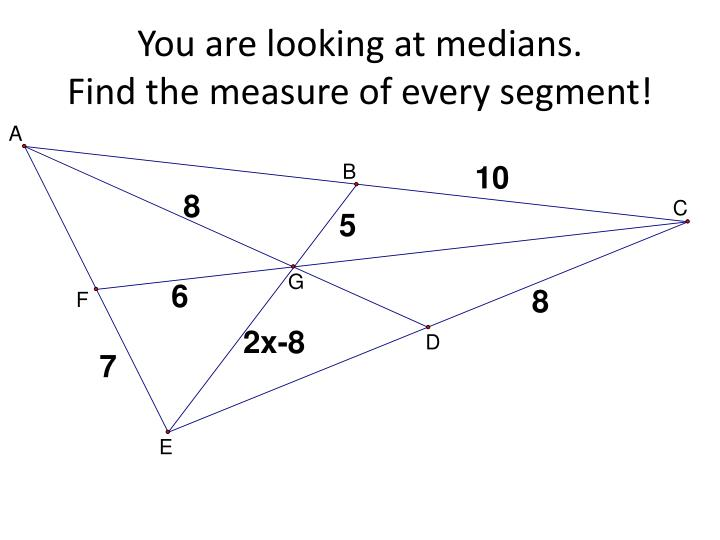 You are looking at medians.