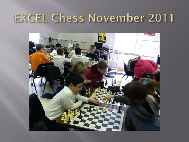 Excel chess november 2011