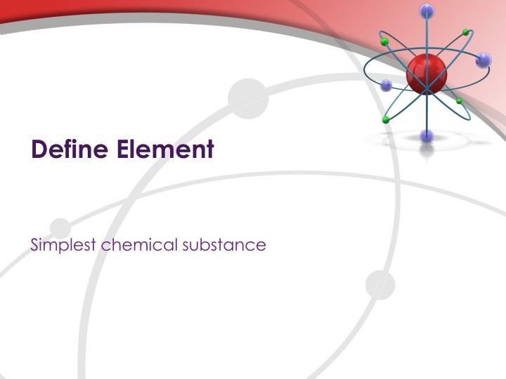 Define Element