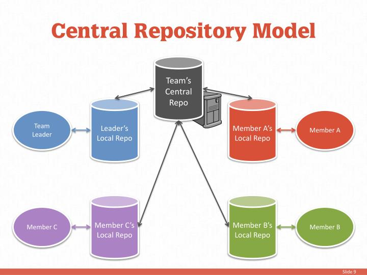Central Repository Model