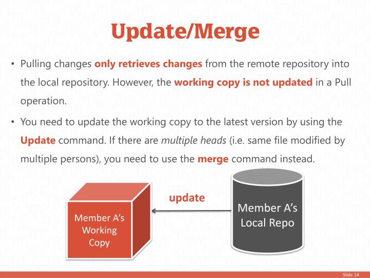 Update/Merge