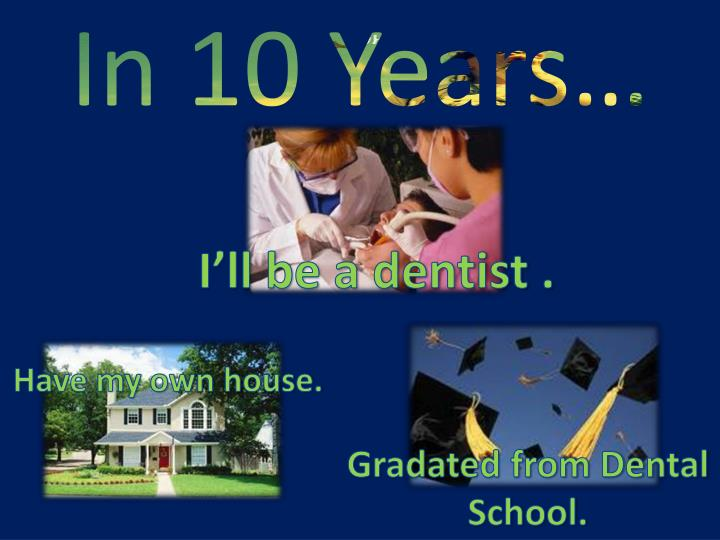 In 10 Years…