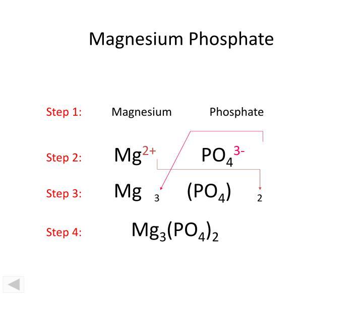 Magnesium Phosphate