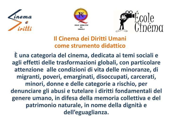 Il Cinema dei Diritti Umani