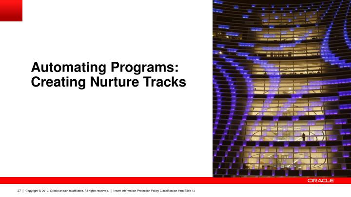 Automating Programs:
