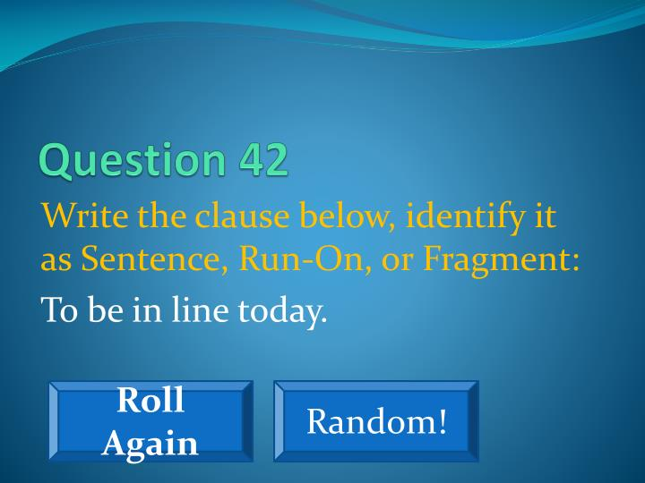 Question 42