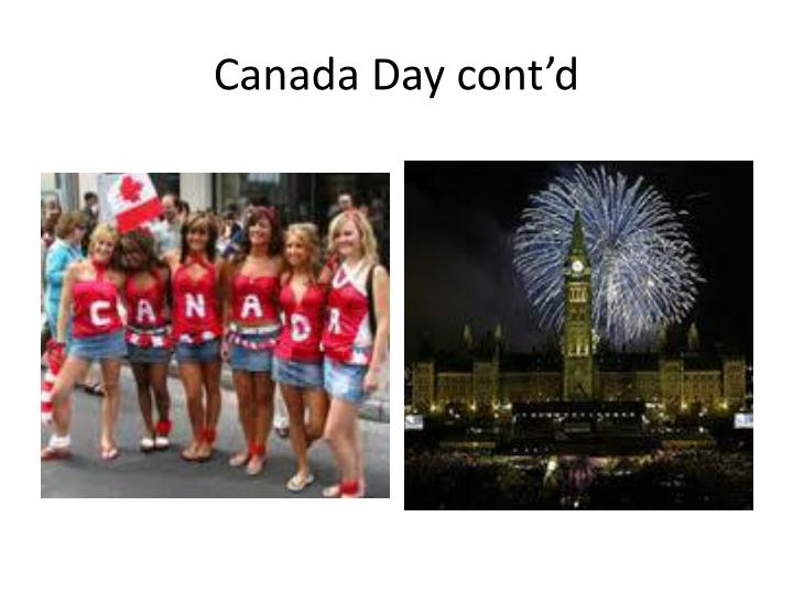 Canada Day cont'd