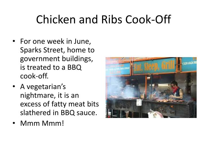 Chicken and Ribs Cook-Off