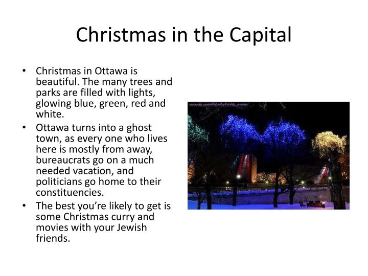 Christmas in the Capital