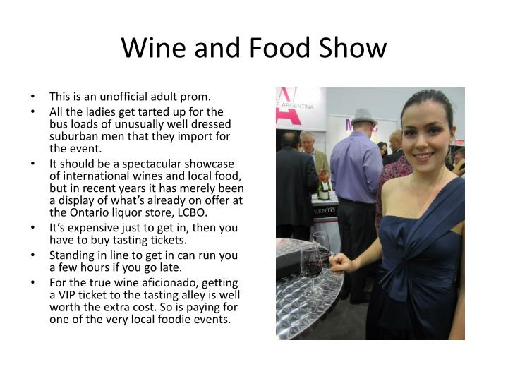Wine and Food Show