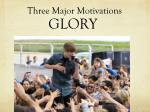 three major motivations2