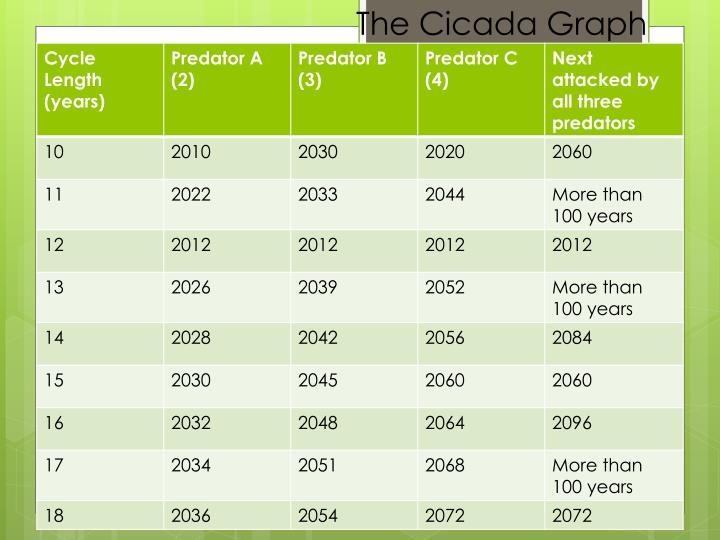 The Cicada Graph