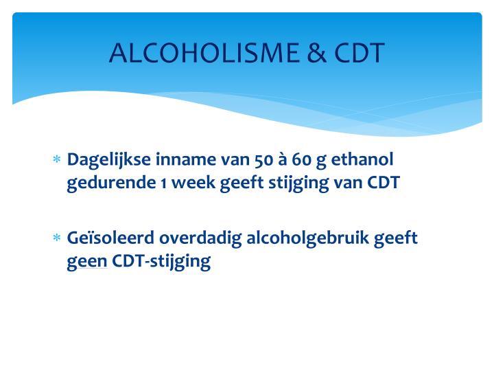 ALCOHOLISME &