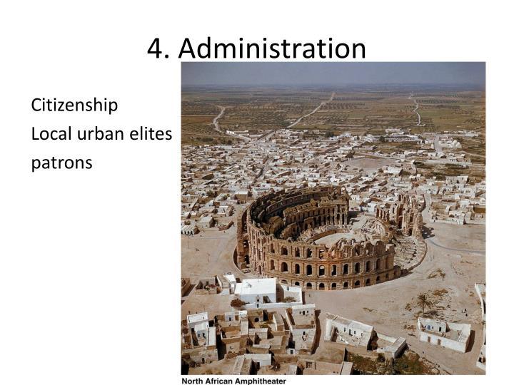 4. Administration