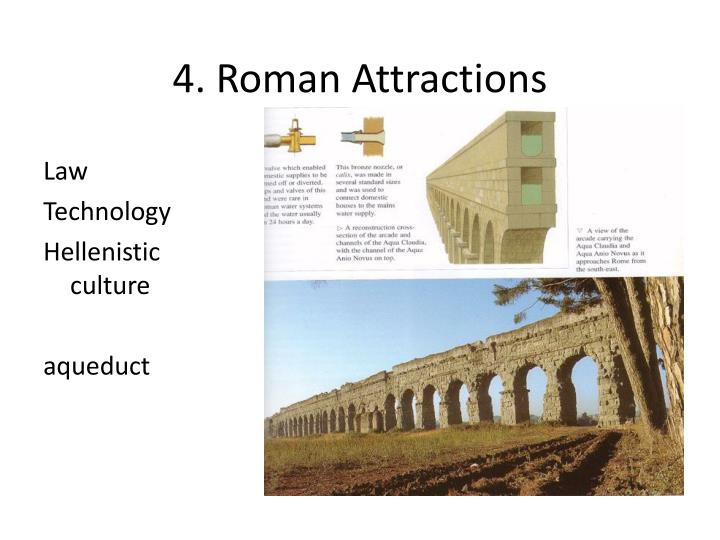 4. Roman Attractions