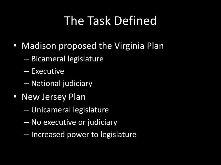 The Task Defined