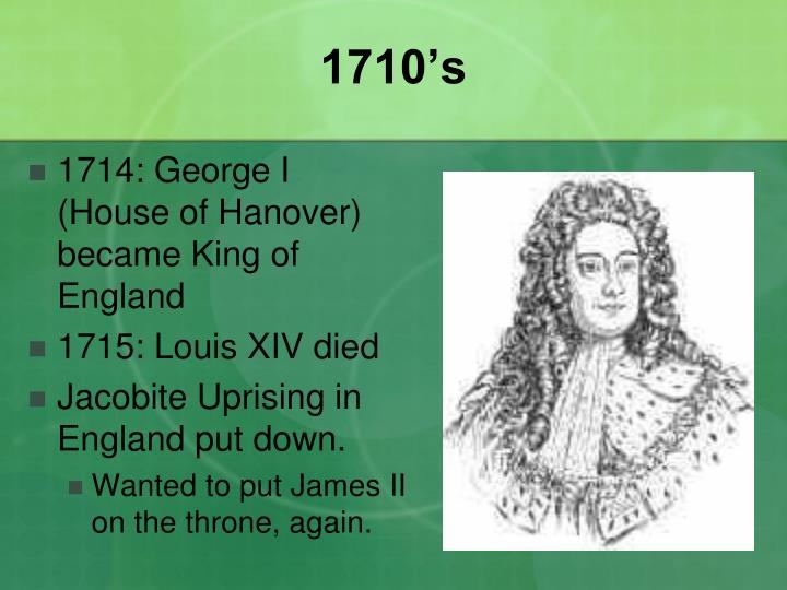 1710's