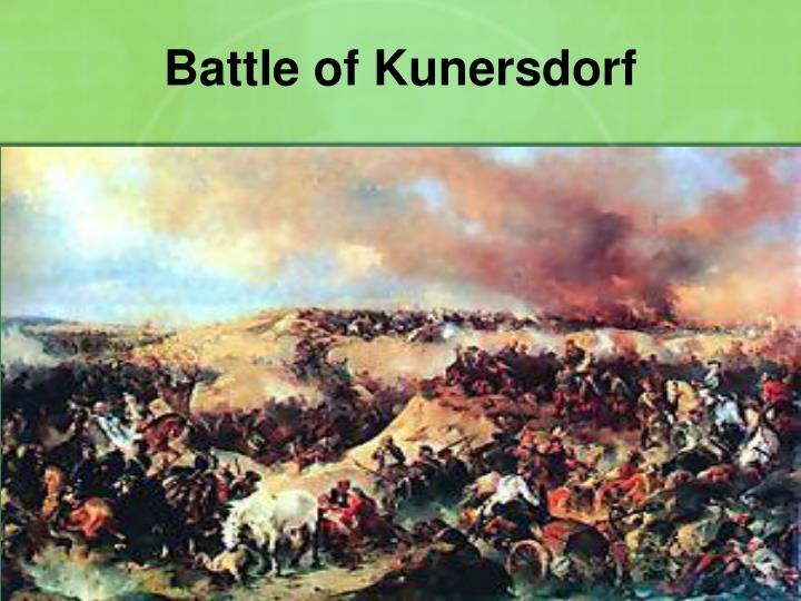 Battle of Kunersdorf