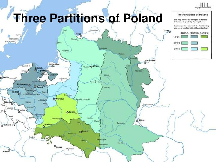 Three Partitions of Poland