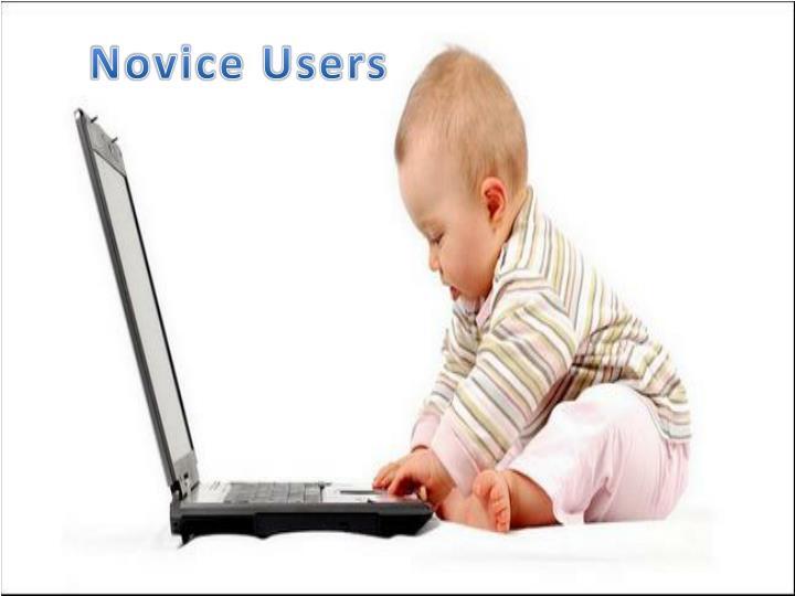 Novice Users