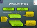 data sets types