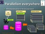 parallelism everywhere
