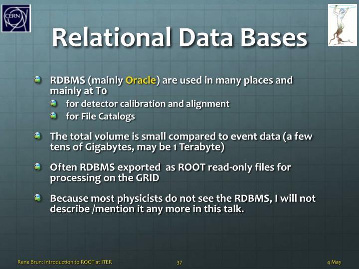 Relational Data Bases