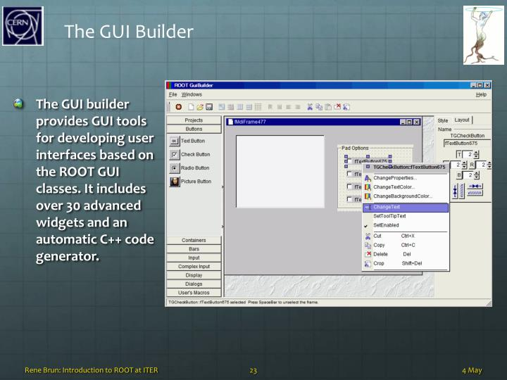 The GUI Builder