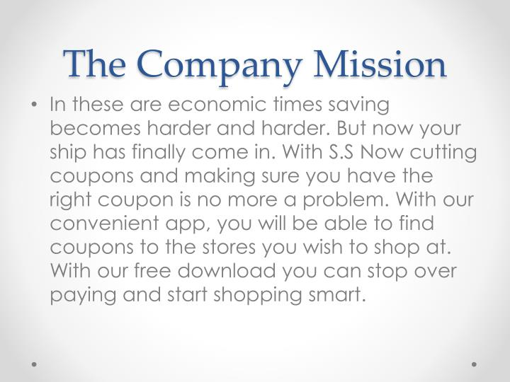 The Company Mission