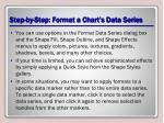 step by step format a chart s data series3
