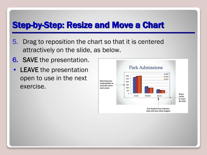 Step-by-Step: Resize and Move a Chart