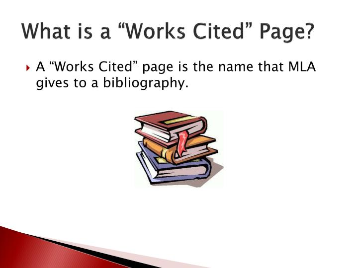 "What is a ""Works Cited"" Page?"